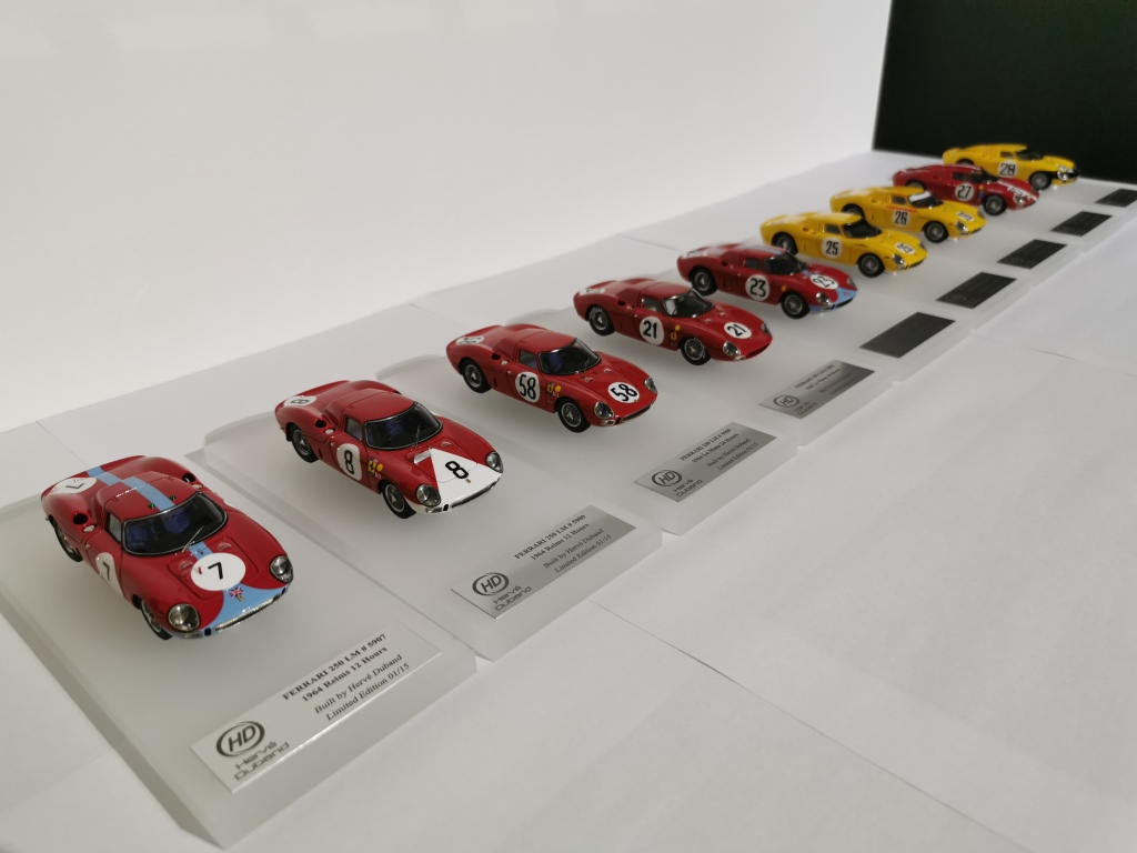 H. Duband : Ferrari 250 LM race versions --> PRE ORDER NOW !